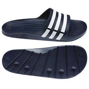 Adidas Men's Duramo Dark Blue Slides